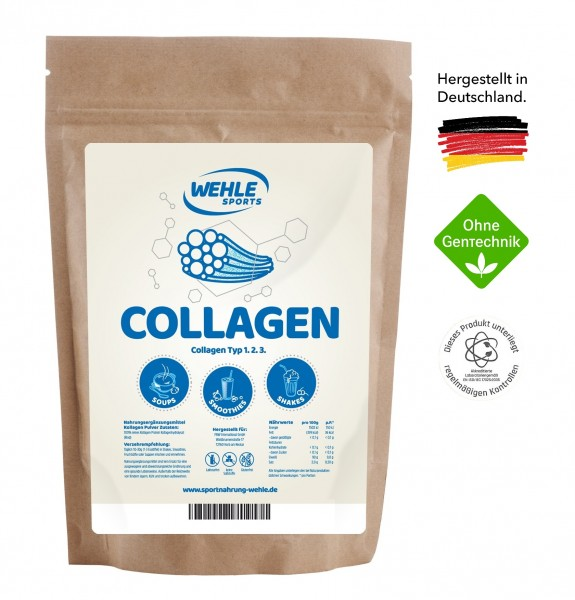 Wehle Sports Collagen-Pulver / Kollagen-Hydrolysat
